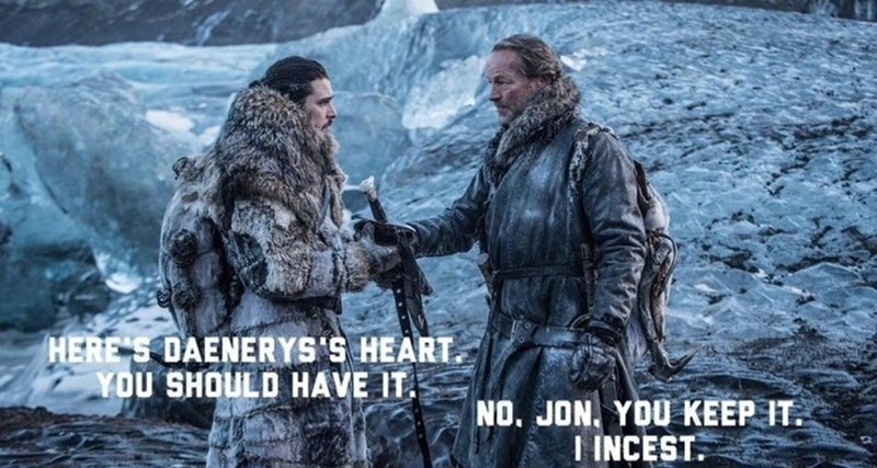 Action-adventure game - HERE'S DAENERYS'S HEART YOU SHOULD HAVE IT. NO. JON. YDU KEEP IT. I INCEST.