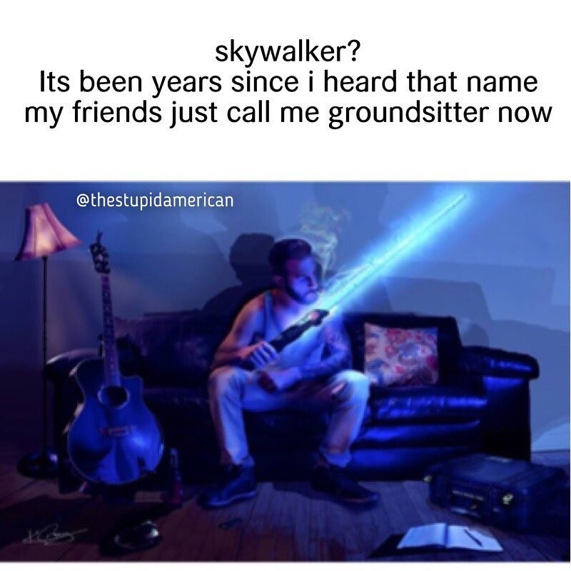 Funny meme about Star Wars