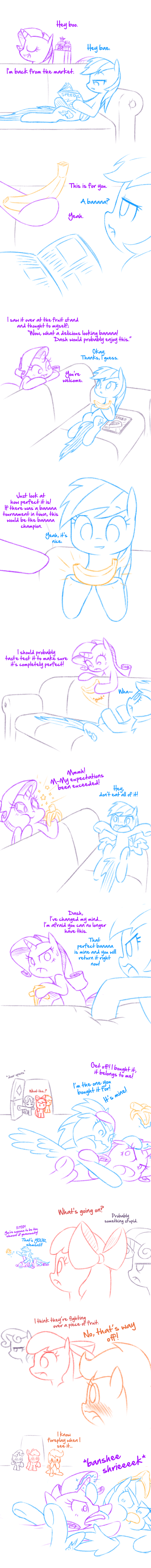 shipping Sweetie Belle apple bloom rarity comic raridash doodles Scootaloo rainbow dash - 9068285184