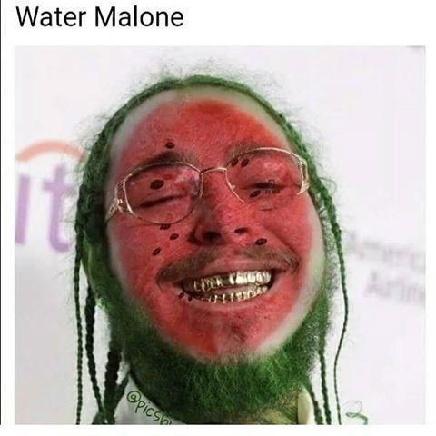 Face - Water Malone Au OPics