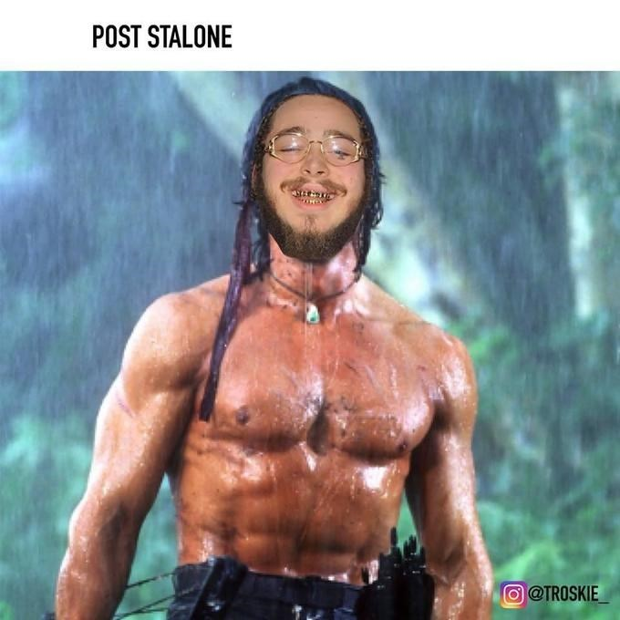 Bodybuilder - POST STALONE @TROSKIE