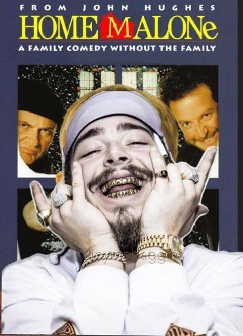 Poster - FROM JOHN HUGHES HOME MALONE A FAMILY COMEDY WITHOUT THE FAMILY egg