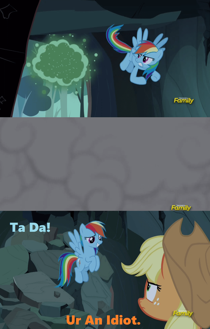 applejack screencap comic campfire tales rainbow dash - 9068691712