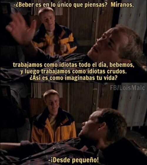 en malcom in the middle te imaginabas esto cuando nino