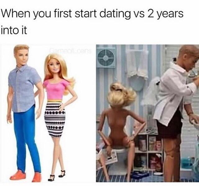 Funny meme about dating.