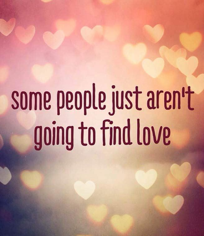 Sky - some people just aren't going to find love