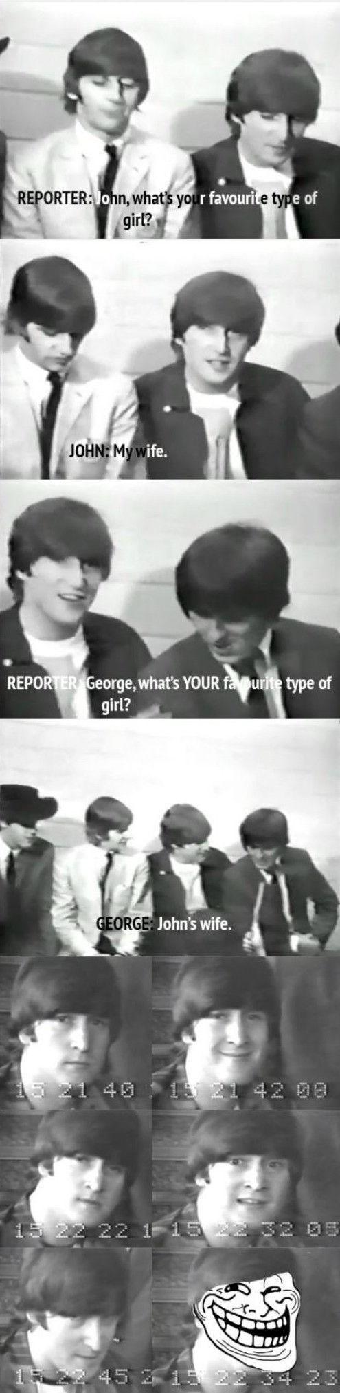 Beatles banter on camera
