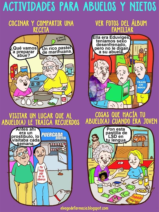 actividades que puedes hacer con tus abuelos