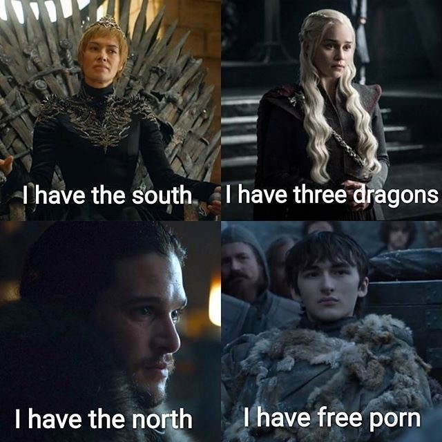 Photo caption - Thave the south,I have three dragons I have free porn I have the north