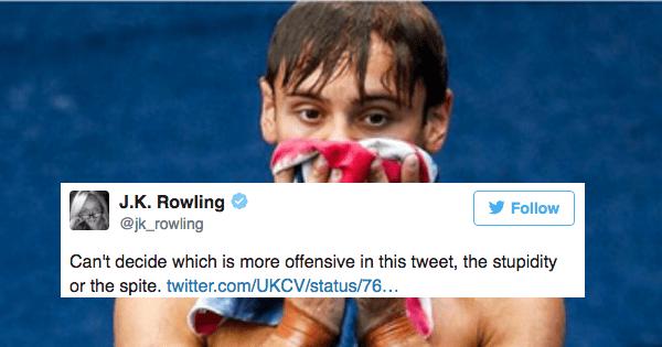 twitter,homophopia,jk rowling,trolls