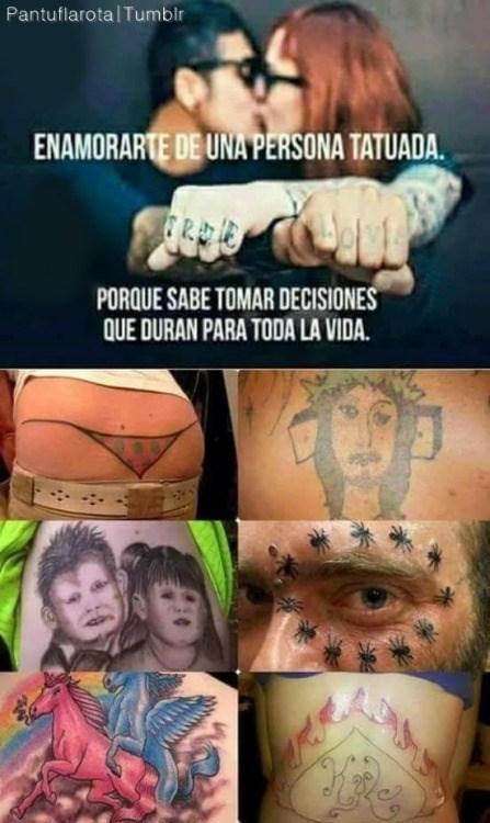 enamorate de una persona con tatuajes decision para toda la vida