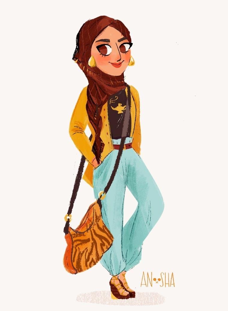 Fashion illustration - AN-SHA