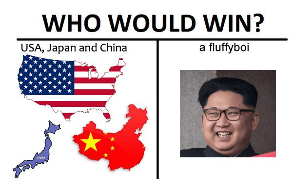 kim jong-un who would win North Korea - 9071363328