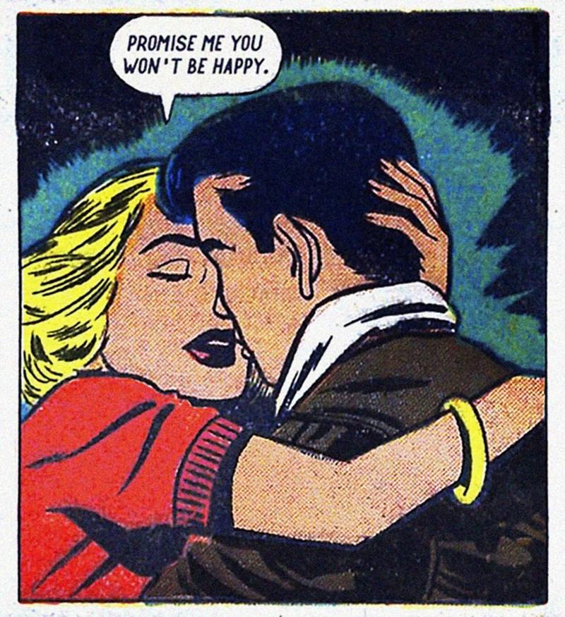 vintage - Fiction - PROMISE ME YOU WON'T BE HAPPY