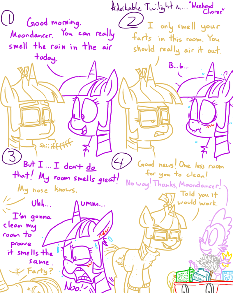 spike moon dancer twilight sparkle comic adorkable twilight and friends - 9071829248