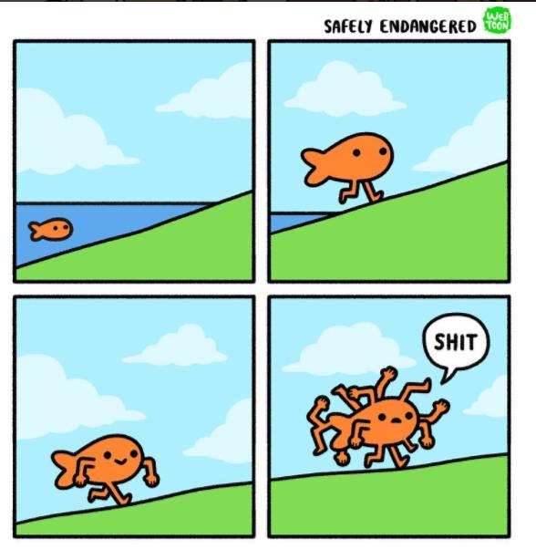 Cartoon - WEB SAFELY ENDANGERED TOON SHIT