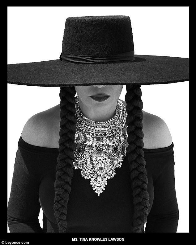 Black - MS. TINA KNOWLES LAWSON beyonce.com