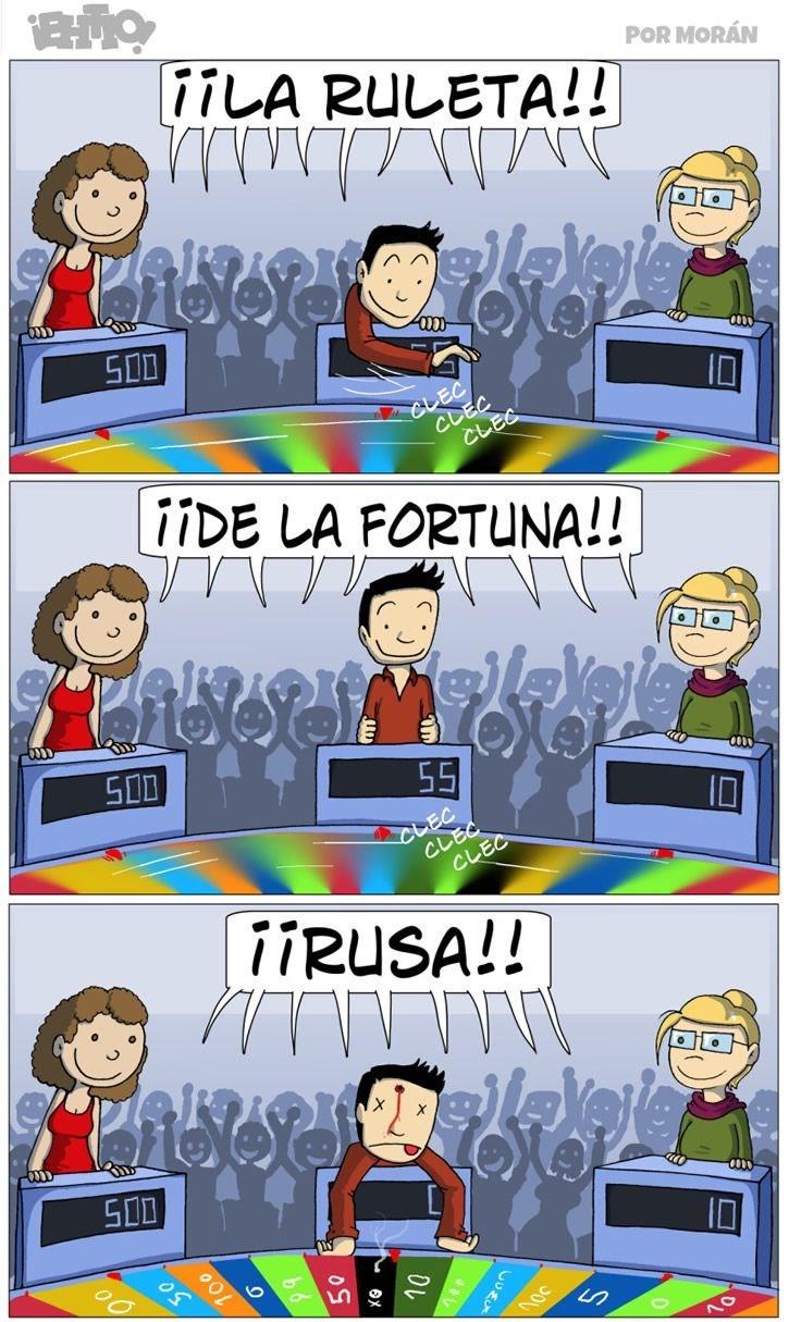 juego de la ruleta de la fortuna rusa