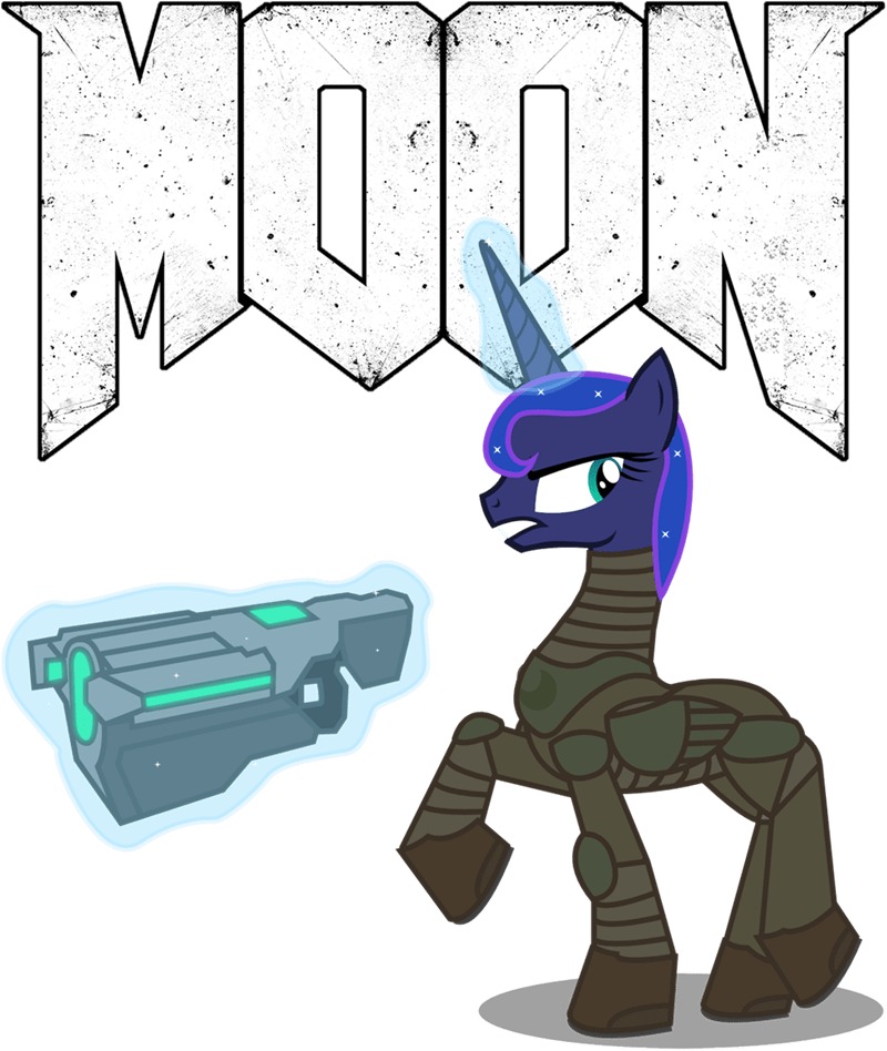 doom totallynotabronyfim princess luna ponify - 9072226560