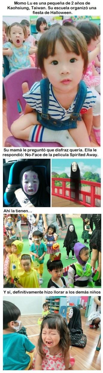 chica japonesa momo lu no face spirit away