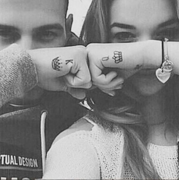 couples tattoos - Eyewear - TUAL DESIGN 0 K