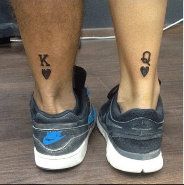 couples tattoos - Footwear - RV