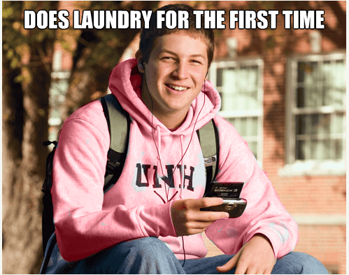 Product - DOES LAUNDRY FOR THE FIRST TIME