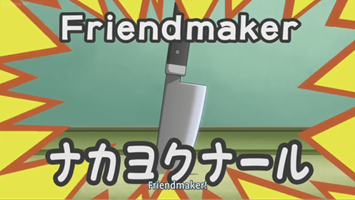 Orange - Friendmaker Friendmaker!