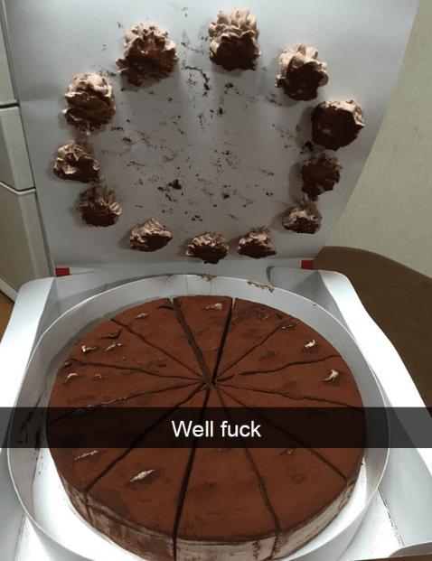 Chocolate cake - Well fuck