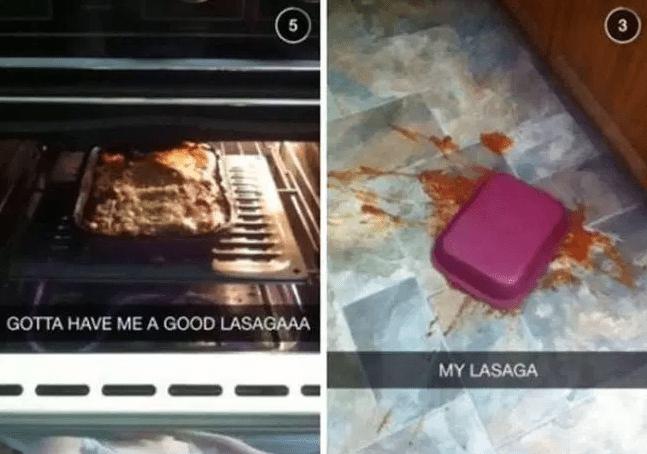 Food - 5 3 GOTTA HAVE MEA GOOD LASAGAAA MY LASAGA