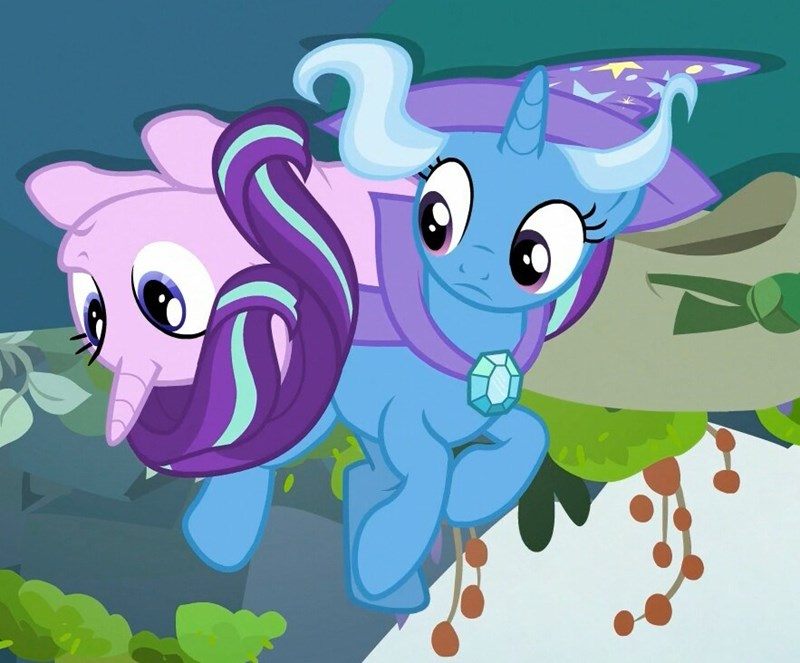 the great and powerful trixie to change a changeling starlight glimmer screencap - 9073122048