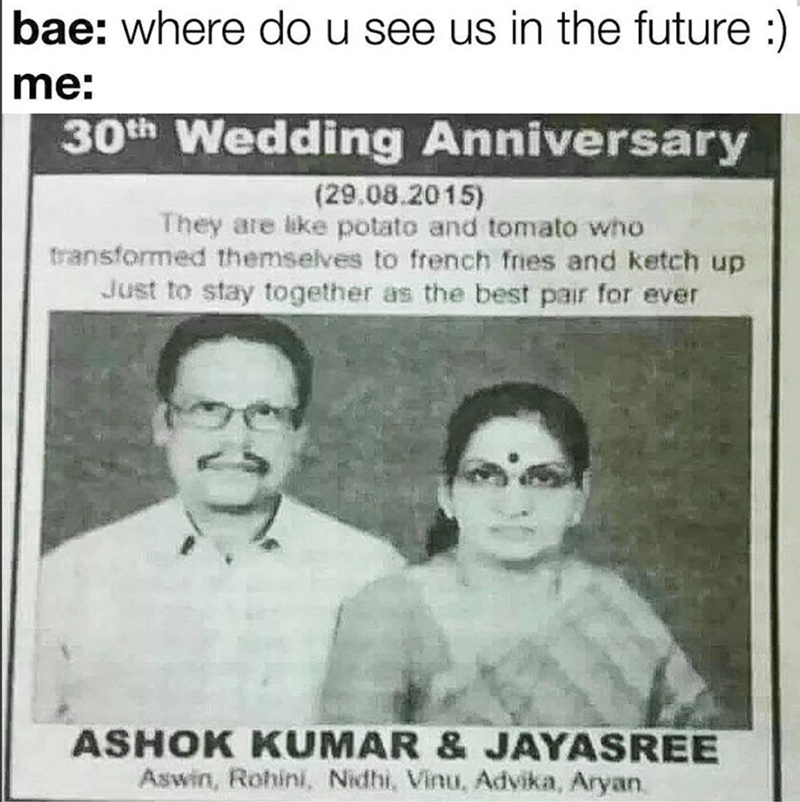 Funny meme of 30 year goals