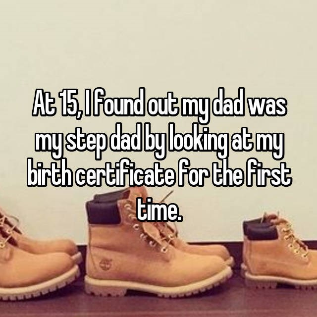 Footwear - At 15,1Found out my dad was mysbepdadby bokingabmy bi-th certificate For the first time