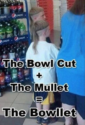 Product - peps peps peps The Bowl Cut The Mullet The Bowllet