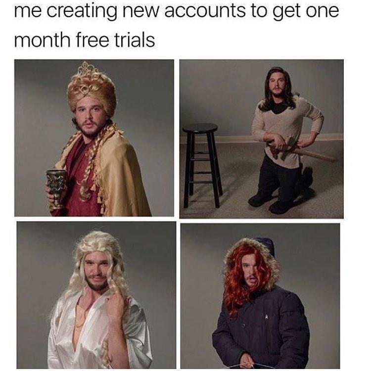 Funny meme about jon snow