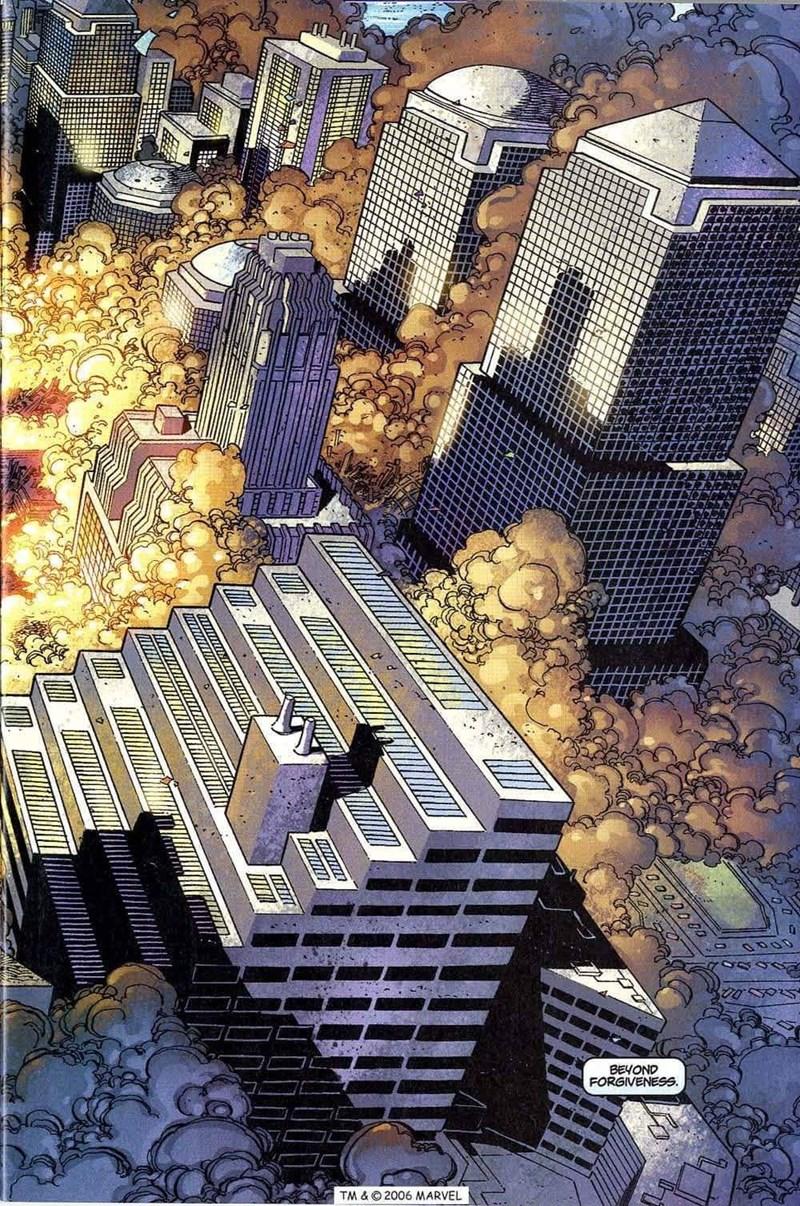 Skyscraper - BEYOND FORGIVENESS TM & ©2006 MARVEL 00D0 00