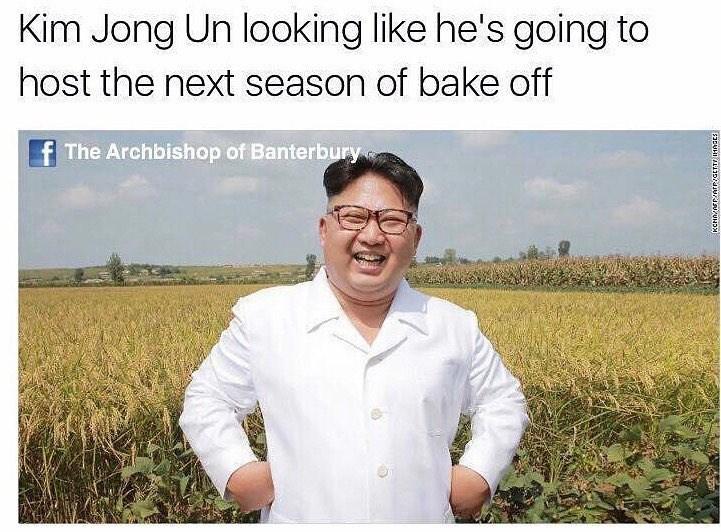 Funny meme about Kim Jong-Un.