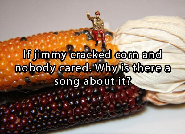 song about jimmy cracked corn that nobody cared
