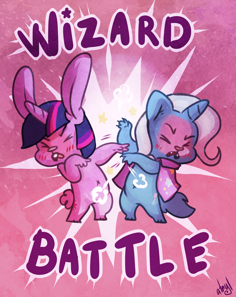 the great and powerful trixie magic duel atryl twilight sparkle - 9074352896