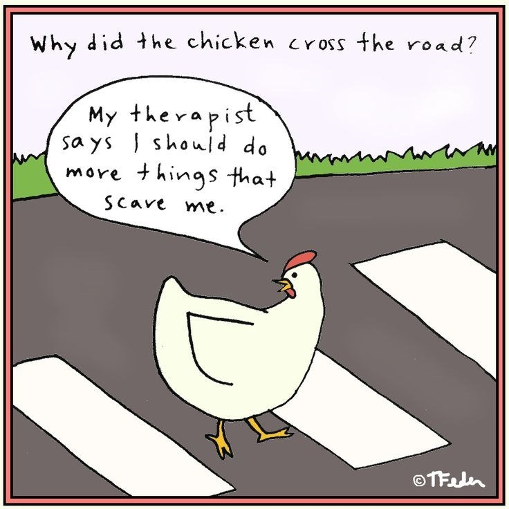 funny webcomics of why the chicken crossed the road