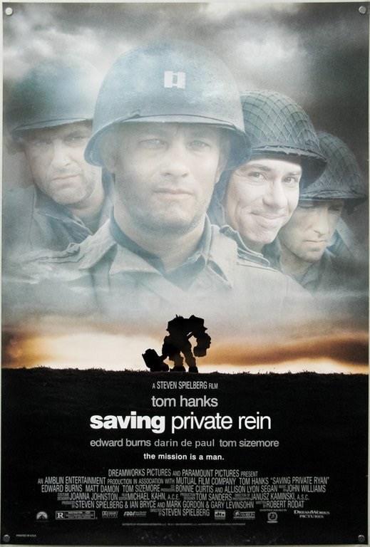 Saving private Rein - Overwatch meme