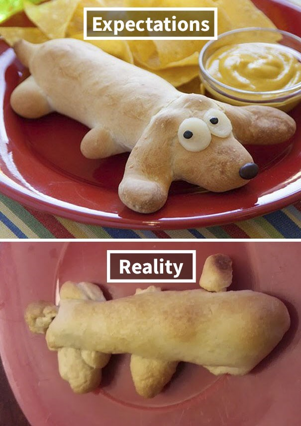 Food - Expectations Reality