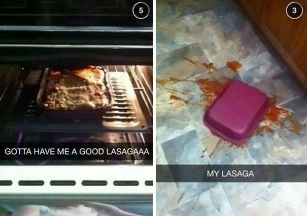 Food - 5 3 GOTTA HAVE ME A GOOD LASAGAAA MY LASAGA