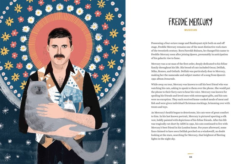 Poster - FREDDIE MERCURY MUSICIAN Possessing a four-octave range and flamboyant style both on and off stage, Freddie Mercury remains one of the most distinctive rock stars of the twentieth century. Born Farrokh Bulsara, he changed his name to Freddie Mercury soon after joining Queen, presumably in anticipation of his galactic rise to fame. Mercury was a cat man of the first order, deeply dedicated to his feline family throughout his life. His brood of cats included Oscar, Delilah, Miko, Romeo, a