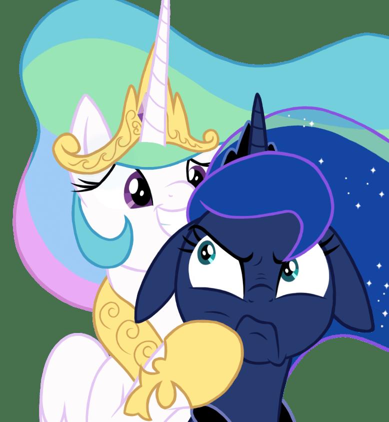 yakoshi princess luna princess celestia - 9075197696