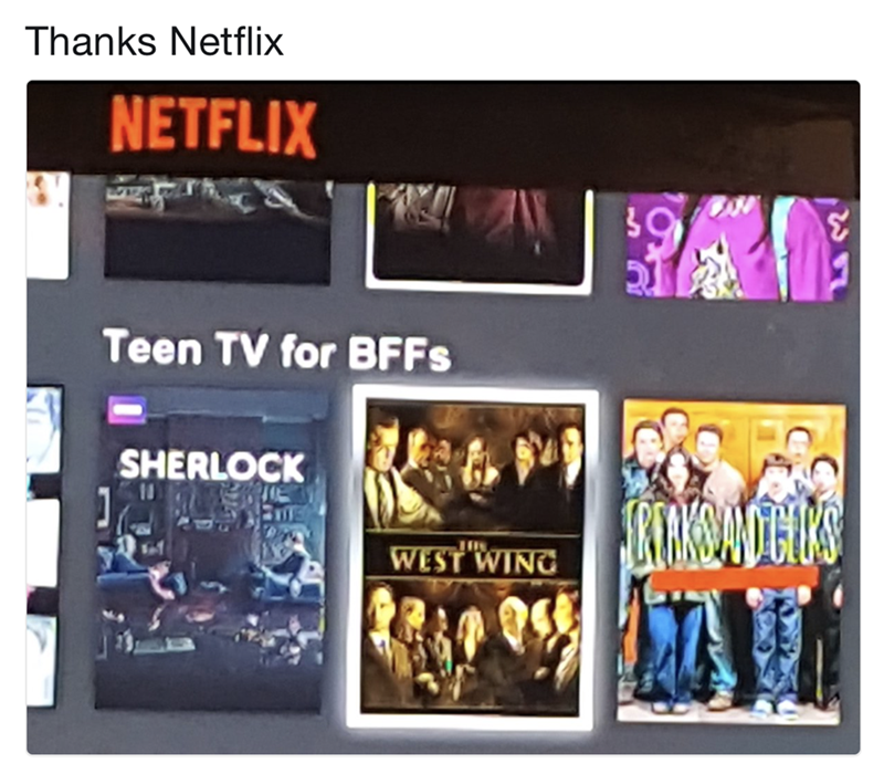Netflix has Teen TV for BFFs