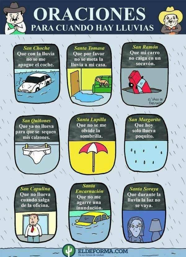 oraciones para todo tipo de catastrofe