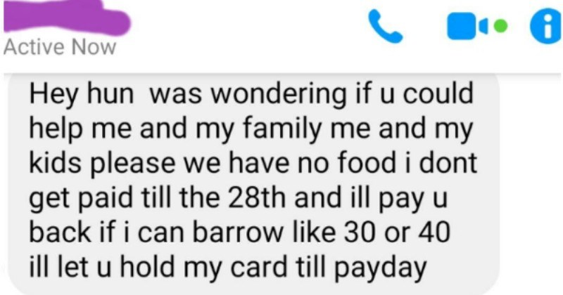Choosing beggar desperately begs for free money to buy groceries and then won't accept free groceries offer when they actually receive it.