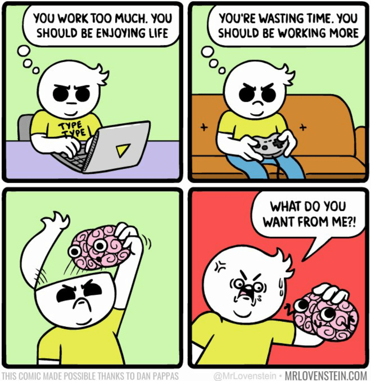 Funny web comic about how brains don't make sense
