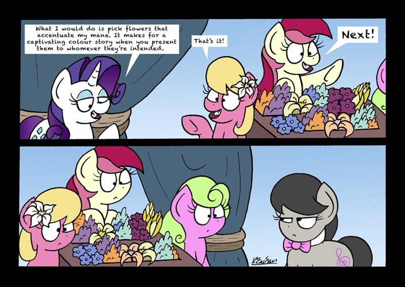 lily valley roseluck it's not the mane thing about you bob the dalek daisy rarity comic octavia - 9076311552